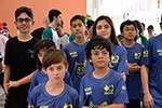 Equipes olímpicas do Colégio Objetivo participam do torneio de Robótica First Lego League